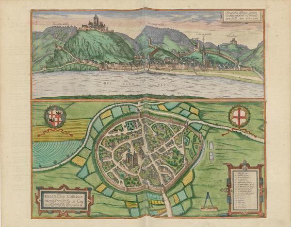 Chorographica Descriptio Civitatis Cocheimensis 1575