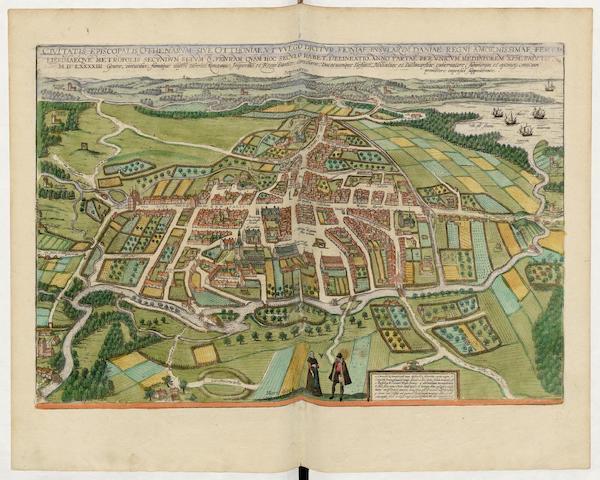Civitates Orbis Terrarum Vol. 5 - Civitatis Episcopalis Othenarvm Sive Otthoniae 1593 (1596)