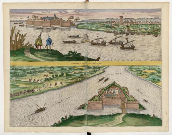 Civitates Orbis Terrarum Vol. 5 - Comorra (1596)