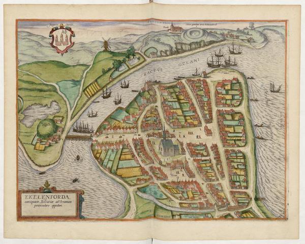 Civitates Orbis Terrarum Vol. 5 - Ekelenforda (1596)