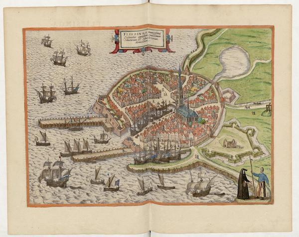 Civitates Orbis Terrarum Vol. 5 - Flissinga (1596)