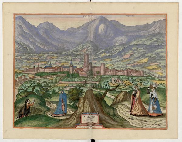 Civitates Orbis Terrarum Vol. 5 - Fvundi Or Fondi 1578 (1596)