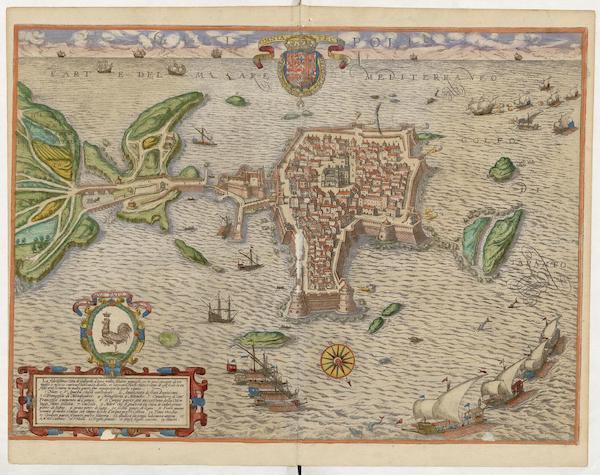 Civitates Orbis Terrarum Vol. 5 - Gallipolis (1596)