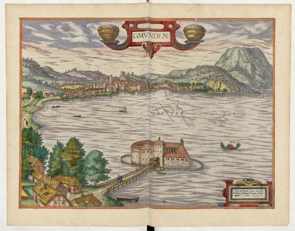 Civitates Orbis Terrarum Vol. 5 - Gmvnden 1594 (1596)