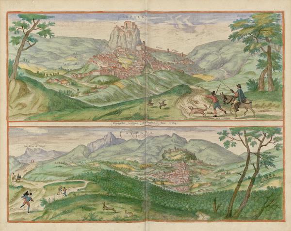 Civitates Orbis Terrarum Vol. 5 - Hardales Cartama 1564 (1596)