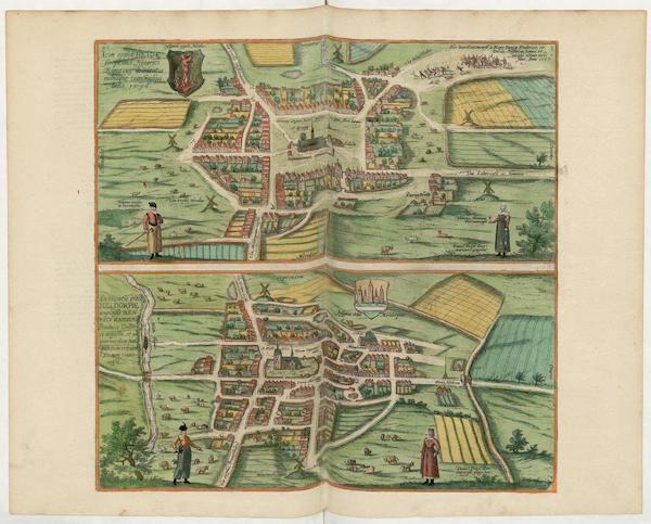 Civitates Orbis Terrarum Vol. 5 - Heide 1596 et Meldorpie (1596)