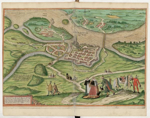 Civitates Orbis Terrarum Vol. 5 - Iaverinvm Vulgo Rab 1594 (1596)