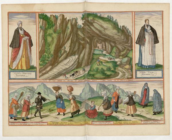 La Sierra De Sant Adrian En Biscaia 1567