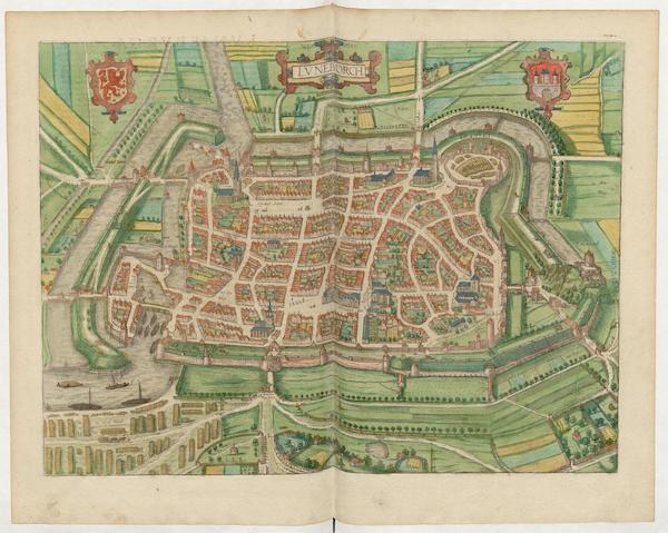 Civitates Orbis Terrarum Vol. 5 - Lvneborch (1596)