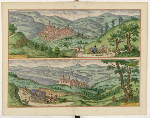 Nocerra et Castel Novo 1577