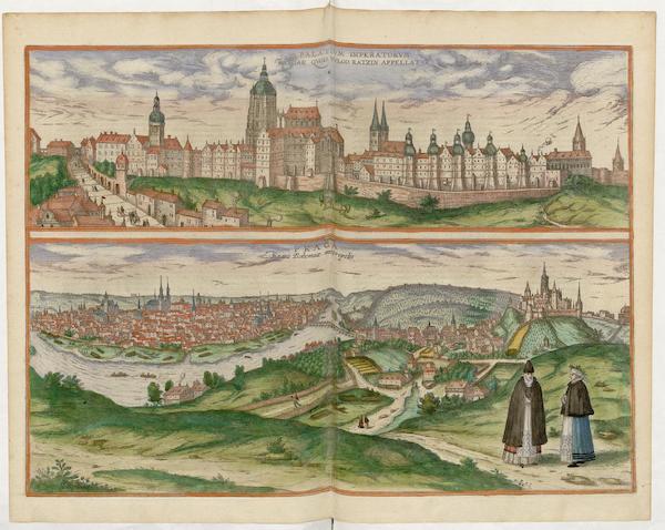 Civitates Orbis Terrarum Vol. 5 - Praga Regni Bohemiae Metropolis (1596)