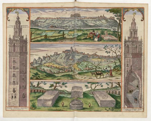 Civitates Orbis Terrarum Vol. 5 - Sant Juan Del Foratche Et Jerenna 1565 (1596)