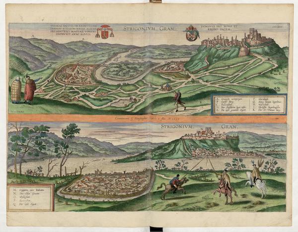 Civitates Orbis Terrarum Vol. 5 - Strigonivm Gran 1595 (1596)