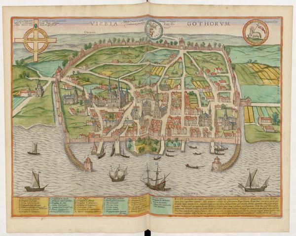 Civitates Orbis Terrarum Vol. 5 - Visbia Gothorvm (1596)