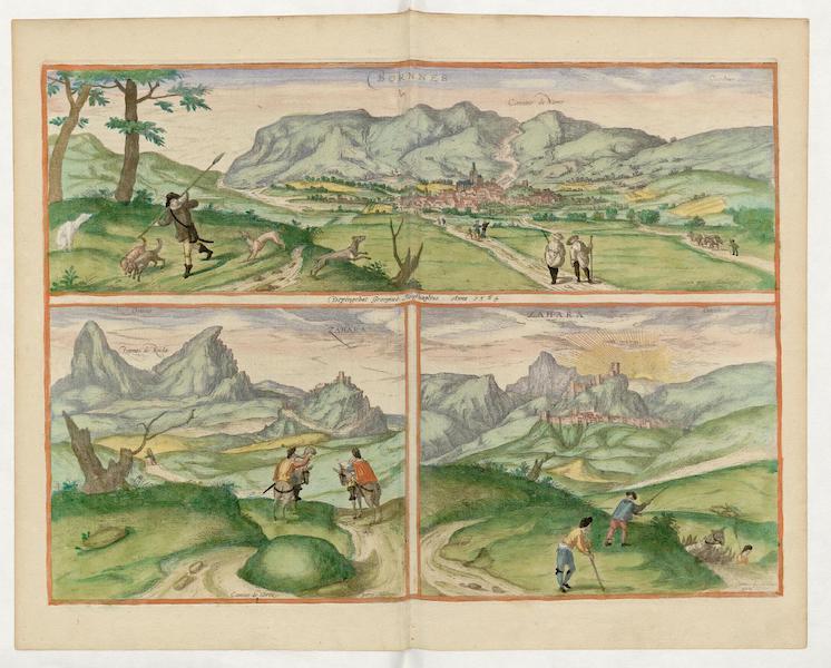 Civitates Orbis Terrarum Vol. 5 - Bornnes et Zahara (1596)