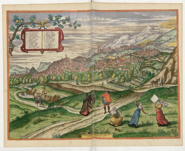 Civitates Orbis Terrarum Vol. 5 - Granata 1565 (1596)