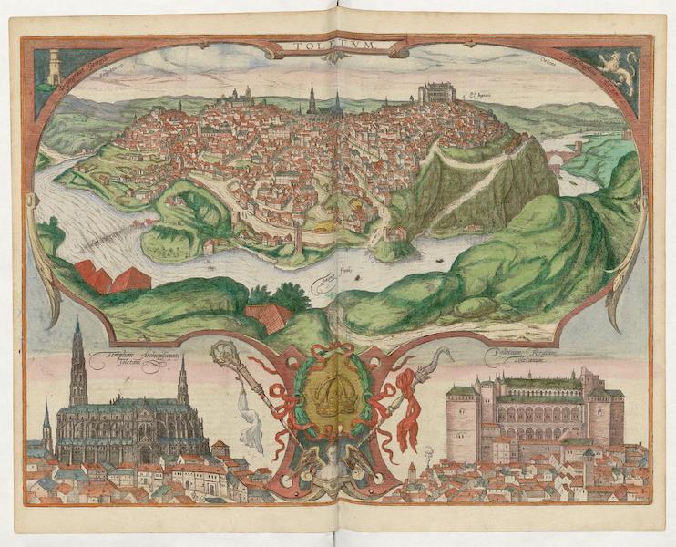 Civitates Orbis Terrarum Vol. 5 - Toletvn 1566 (1596)