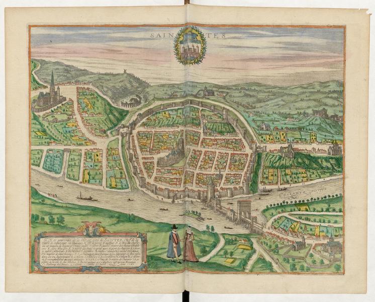 Civitates Orbis Terrarum Vol. 5 - Saintes 1560 (1596)