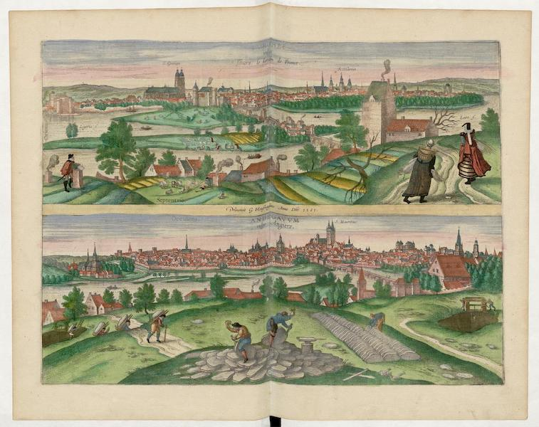 Tvrones Vulgo Tours Adegavvm Vulgo Angiers 1561