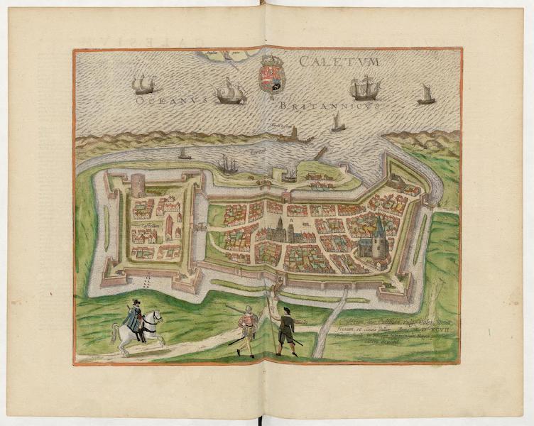 Civitates Orbis Terrarum Vol. 5 - Caletum Vulgo Cales 1597 (1596)