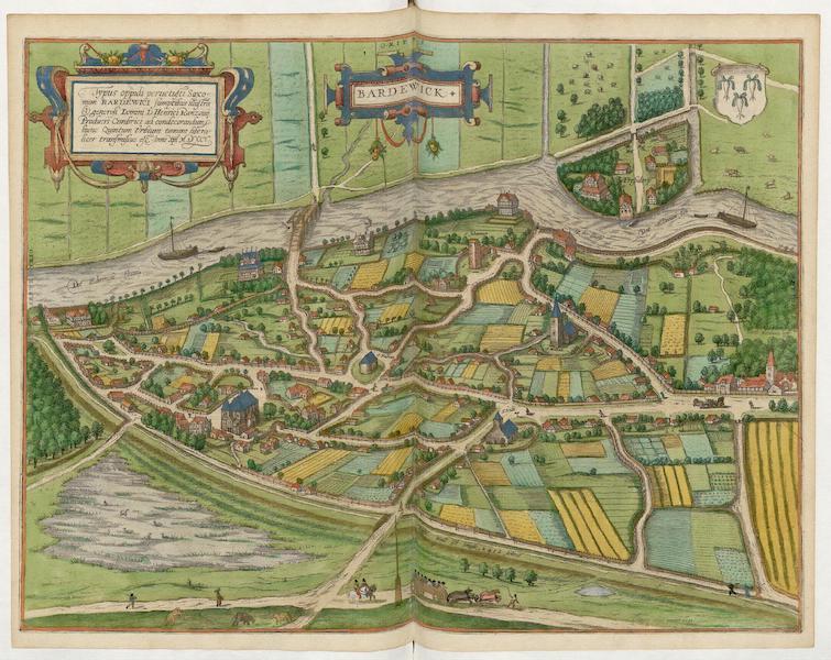Civitates Orbis Terrarum Vol. 5 - Bardewick 1588 (1596)