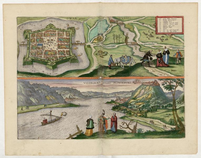 Civitates Orbis Terrarum Vol. 5 - Owar Vizzegrad 1595 (1596)