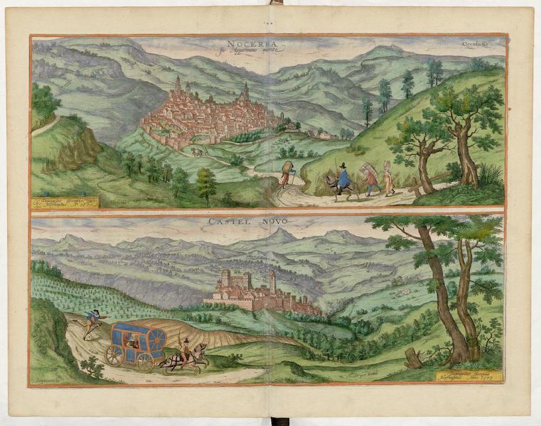 Civitates Orbis Terrarum Vol. 5 - Nocerra et Castel Novo 1577 (1596)
