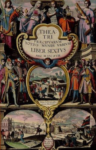 Aquatint & Lithography - Civitates Orbis Terrarum Vol. 6