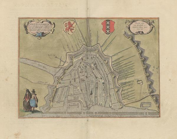 Civitates Orbis Terrarum Vol. 6 - Amstelodamvm (1617)