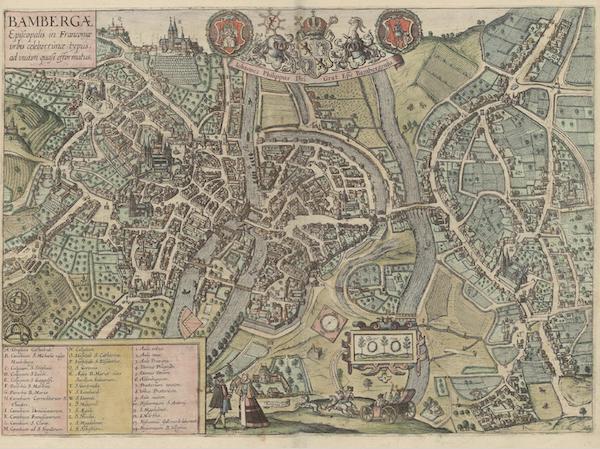 Civitates Orbis Terrarum Vol. 6 - Bambergae (1617)