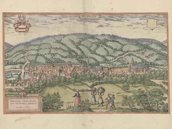 Civitates Orbis Terrarum Vol. 6 - Bvdingen 1617 (1617)