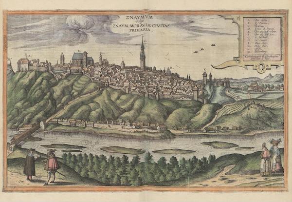 Civitates Orbis Terrarum Vol. 6 - Castanowiz 1617 (1617)