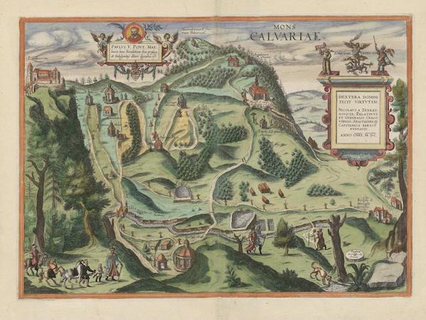 Civitates Orbis Terrarum Vol. 6 - Mons Calvariae 1600 (1617)