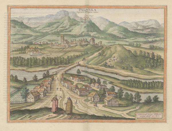 Civitates Orbis Terrarum Vol. 6 - Palanka Superioris Hungariae Civitatas (1617)