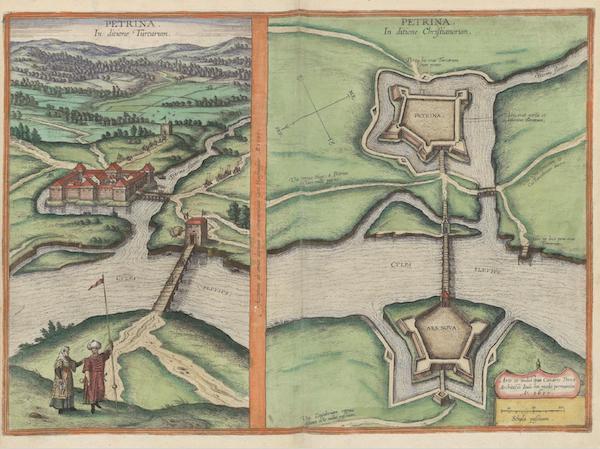 Civitates Orbis Terrarum Vol. 6 - Petrina (1617)