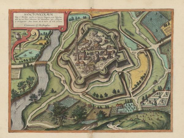 Civitates Orbis Terrarum Vol. 6 - Sanctonicolavm (1617)