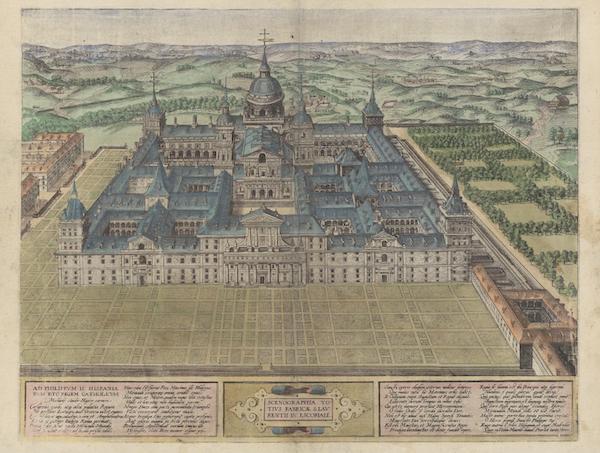 Civitates Orbis Terrarum Vol. 6 - Scenographia Totivs Fabricae S Laurentii In Escorali (1617)