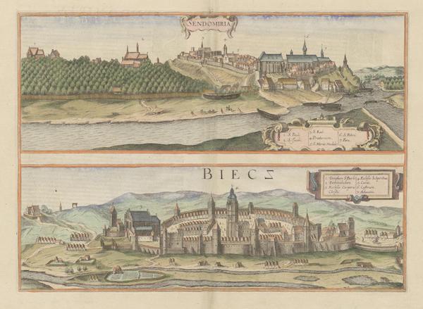 Civitates Orbis Terrarum Vol. 6 - Sendomiria et Biecz (1617)
