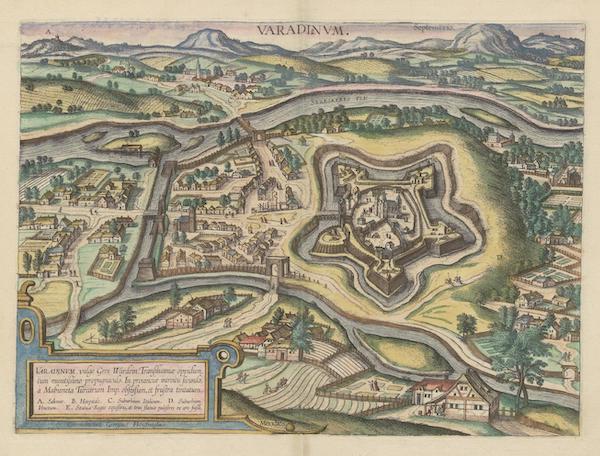 Civitates Orbis Terrarum Vol. 6 - Varadinvm (1617)