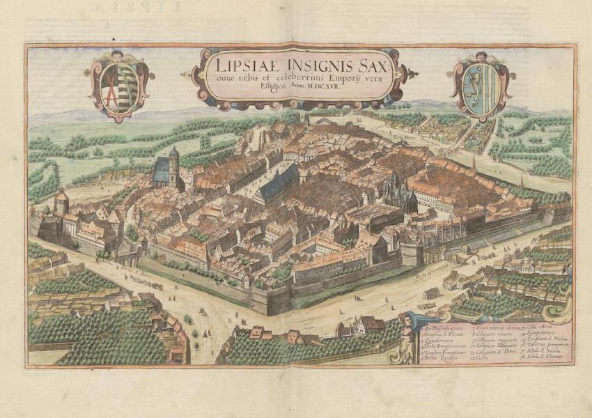 Civitates Orbis Terrarum Vol. 6 - Lipsiae Insignnis Saxoniae Urbis 1617 (1617)