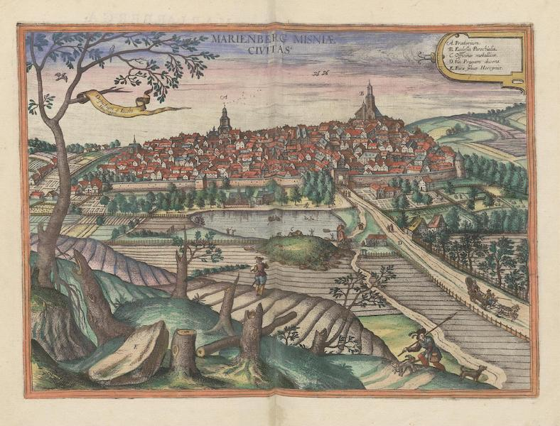 Civitates Orbis Terrarum Vol. 6 - Marienberg Misniae Civitas (1617)