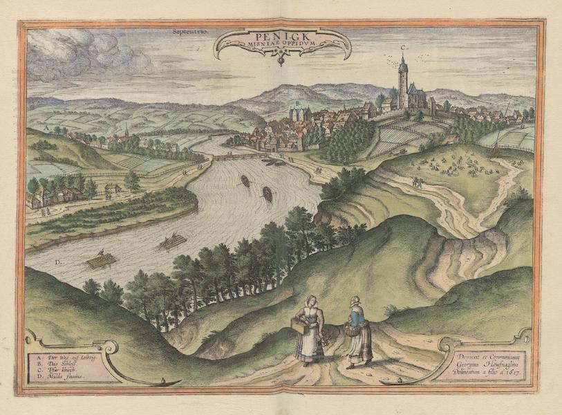 Civitates Orbis Terrarum Vol. 6 - Penigk 1617 (1617)