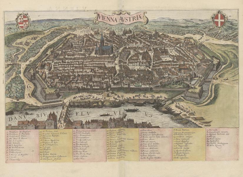 Civitates Orbis Terrarum Vol. 6 - Vienna Austriae (1617)