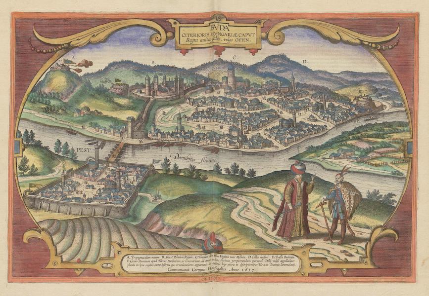 Civitates Orbis Terrarum Vol. 6 - Bvda Citerioris Hvngariae (1617)