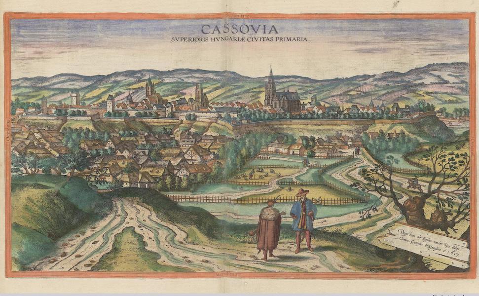 Cassovia Svperioris Hvngariae Civitatas Primaria