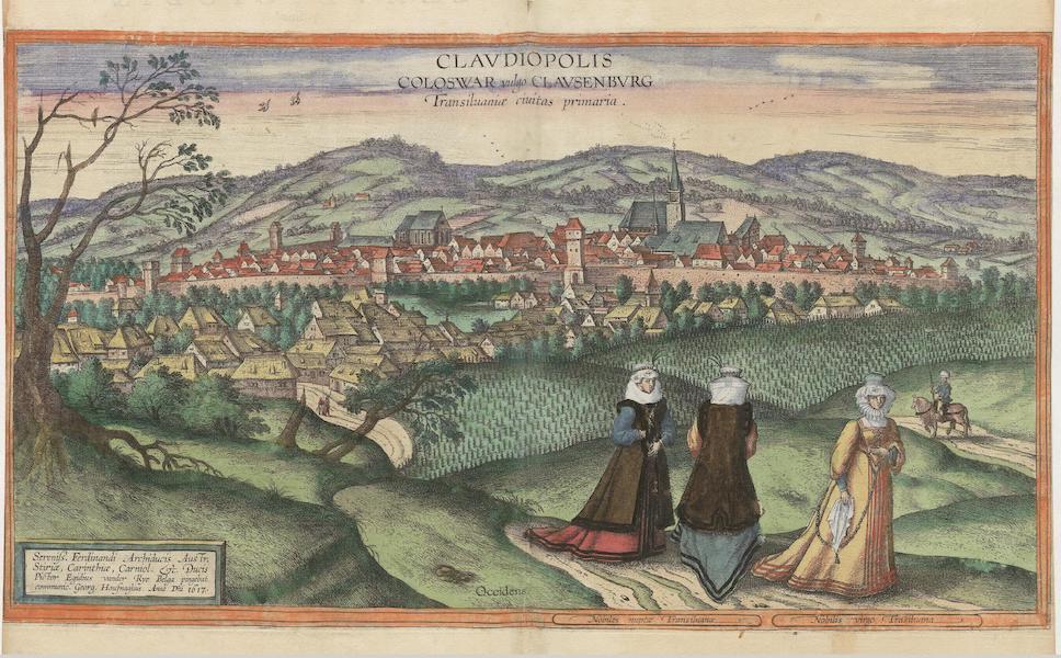 Clavdiopolis Coloswar Vulgo Clavsenbvrg Transiluaniae Civitas Primaria