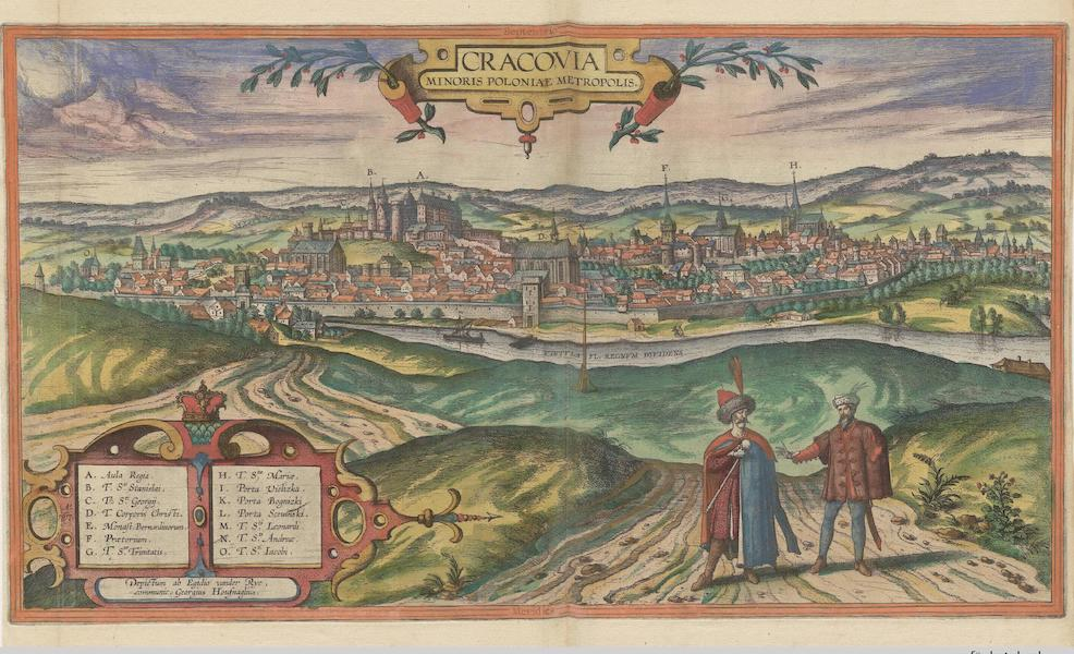 Civitates Orbis Terrarum Vol. 6 - Cracovia Minoris Poloniae Metropolis (1617)