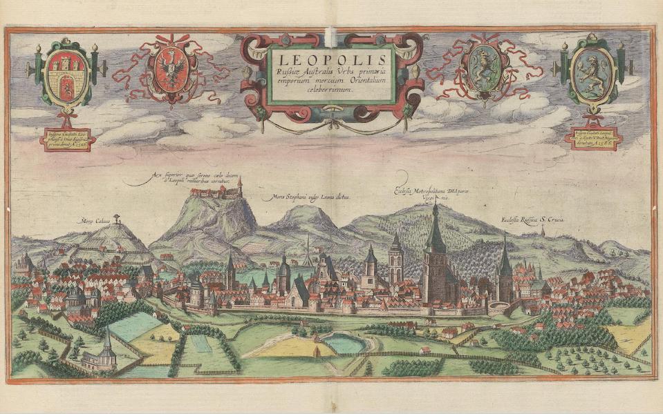 Civitates Orbis Terrarum Vol. 6 - Leopolis (1617)