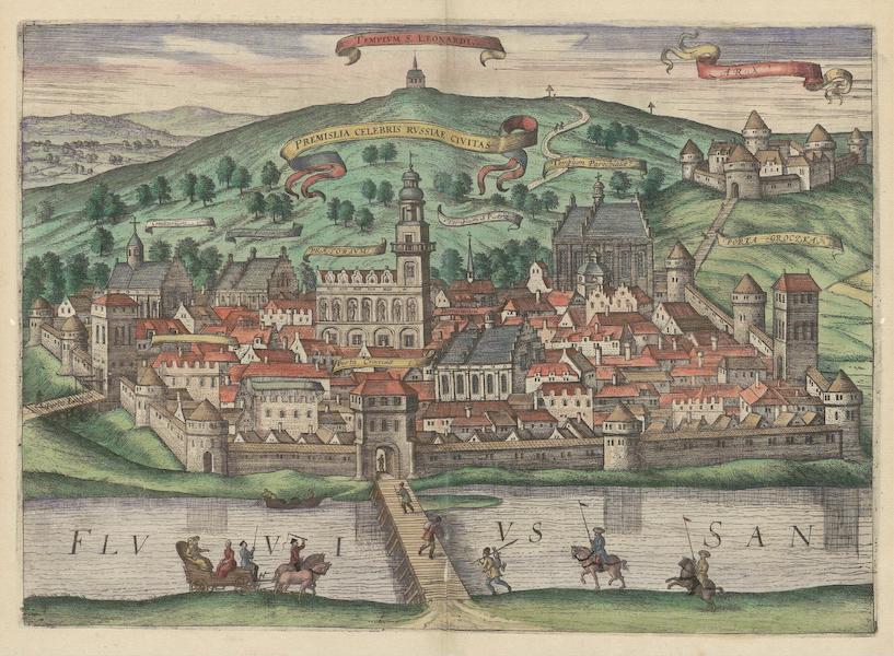 Civitates Orbis Terrarum Vol. 6 - Arx Premislia Celebris Rvssiae Civitas (1617)