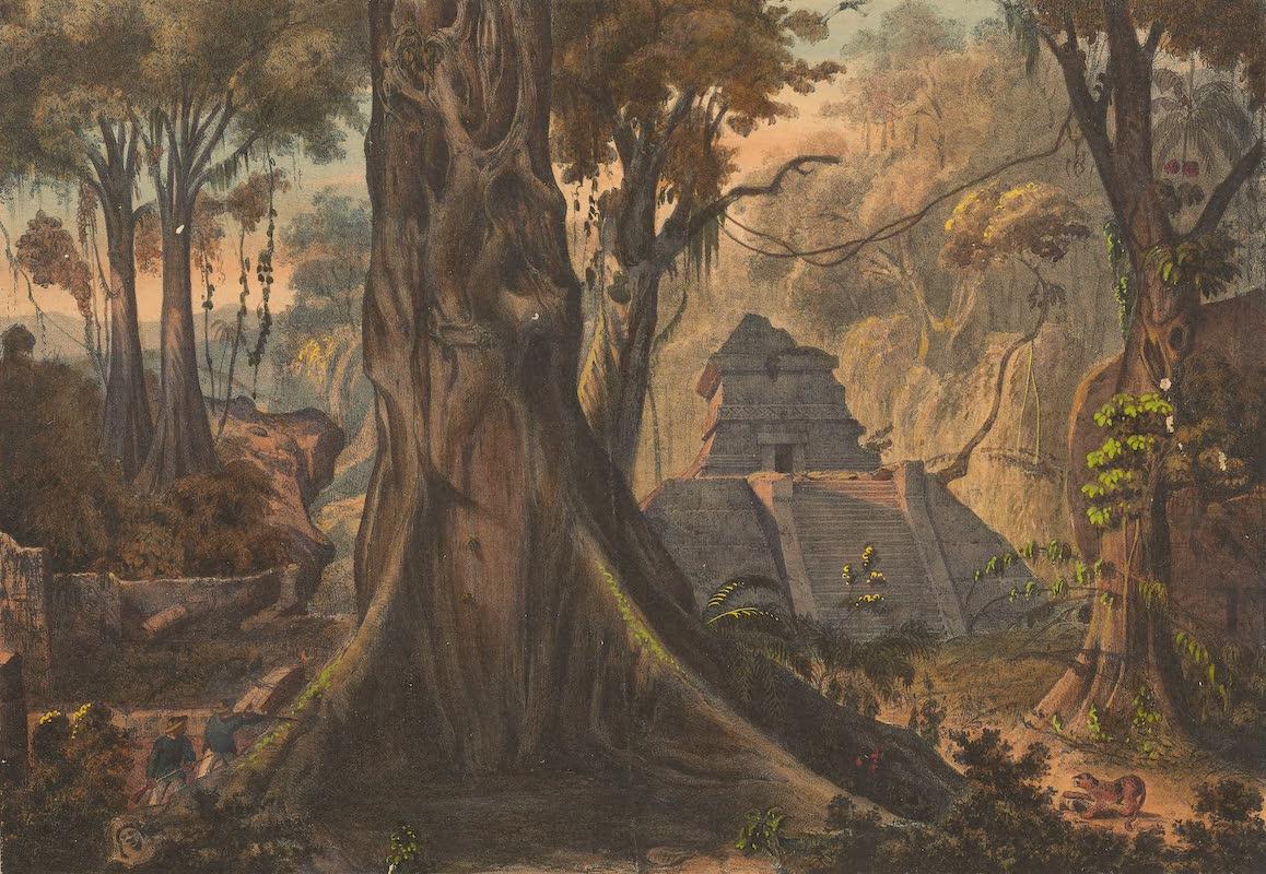 Coleccion de las Antiguedades Mexicanas - Templo Antiguo de los Totonacos en Tusapan (1827)